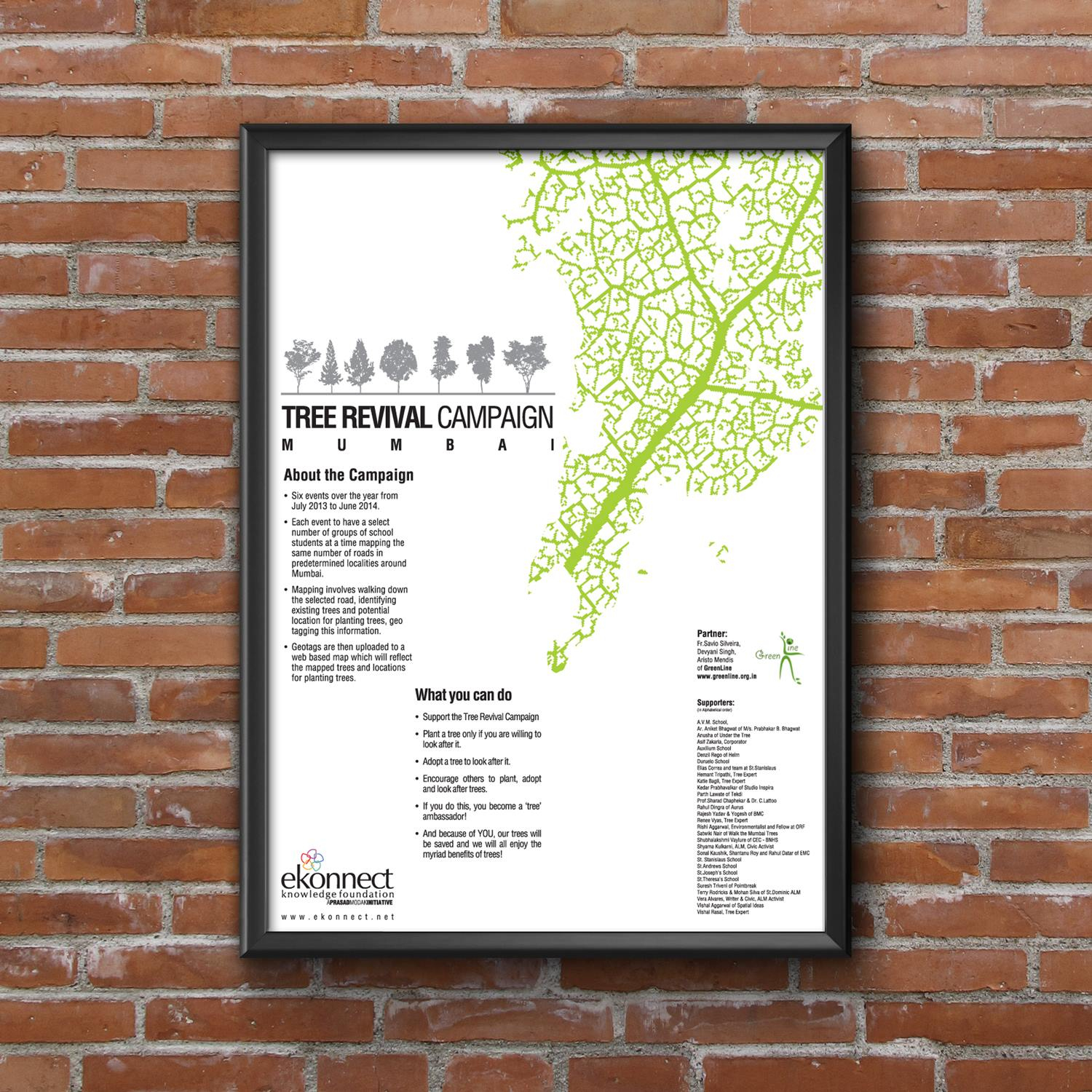 Posters : Tree Revival Campaign