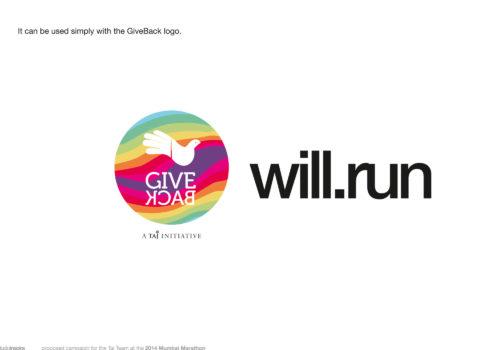 Brand Identity : GiveBack Marathon Team 2014