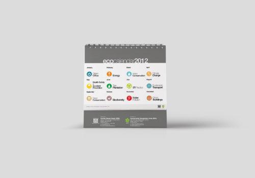 Calendar Design : EkoCalendar 2012