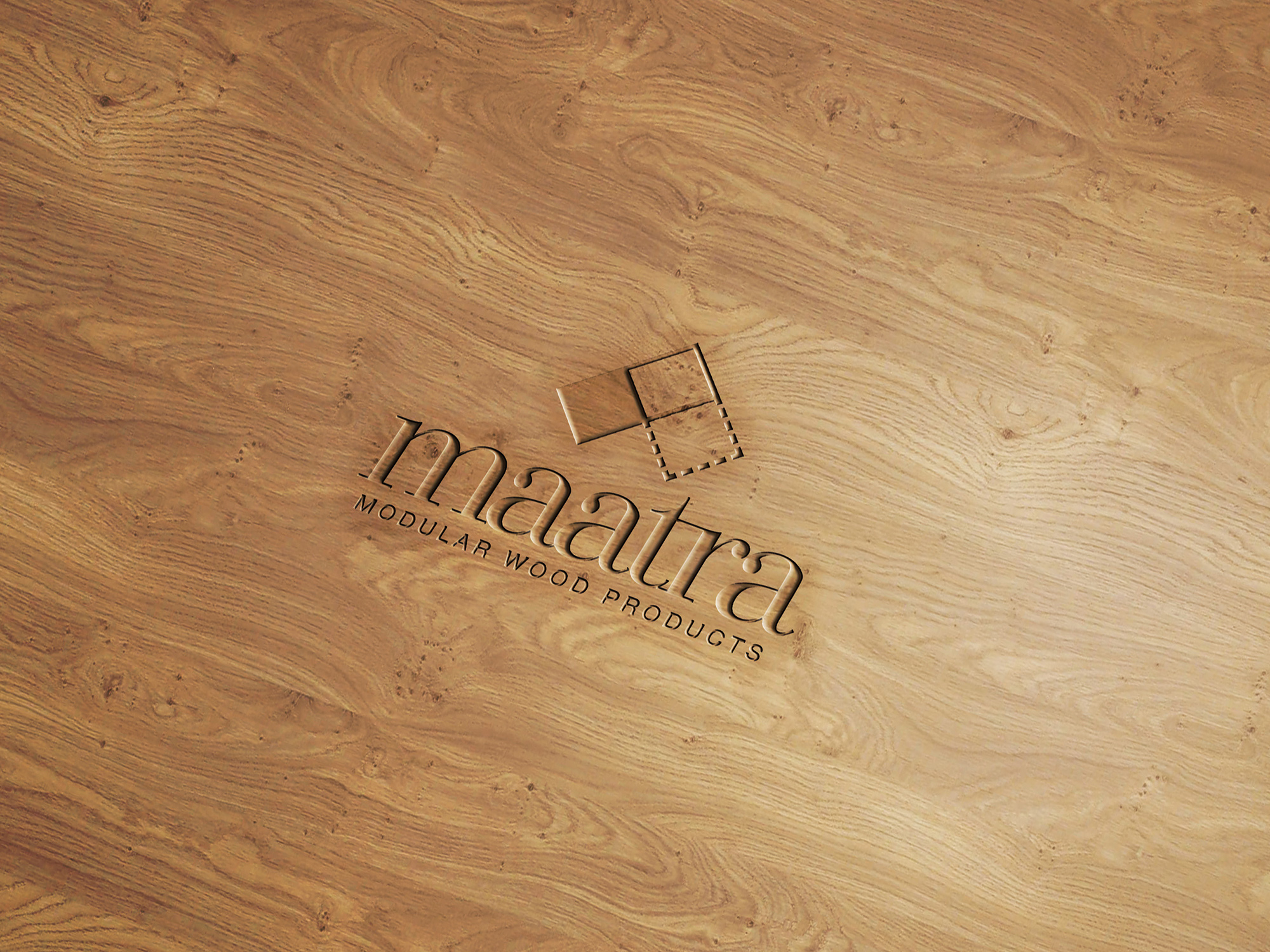 Maatra_03WoodEngravedLogo